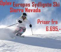 Sierra Nevada - skirejser