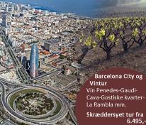 Barcelona City med vintur