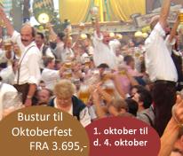 Oktoberfest münchen 2013 - gå ikke glip af den 180'e jubilæumsfest