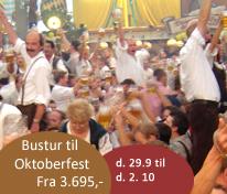 Busture til Oktoberfest München